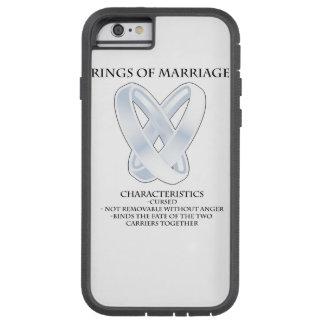 RPG_Rings de la boda Funda De iPhone 6 Tough Xtreme