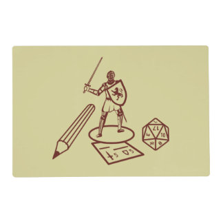 RPG Table Placemat