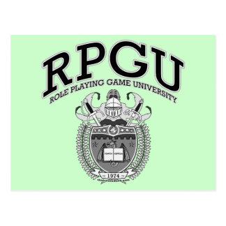 RPGU - B&W POSTCARD