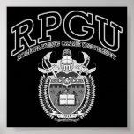 RPGU - B&W POSTERS