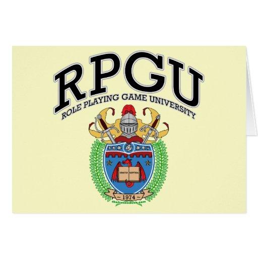RPGU GREETING CARD