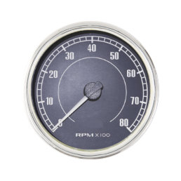 """RPM Gauge"" design gifts and products Pin"