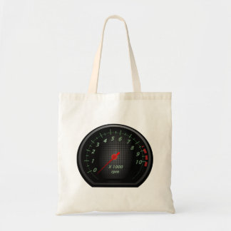 RPM Gauge Tote Bag