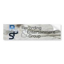 RPS Recording & Entertainment Bumper Sticker