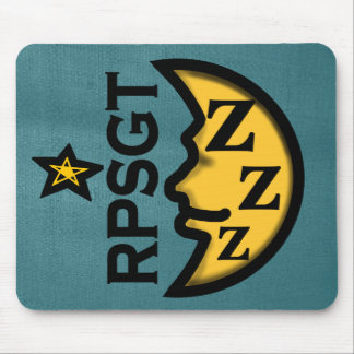 RPSGT SLEEP LAB SYMBOL by Slipperywindow Mouse Pad