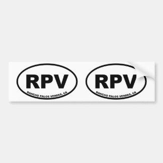 RPV Rancho Palos Verdes Bumper Sticker