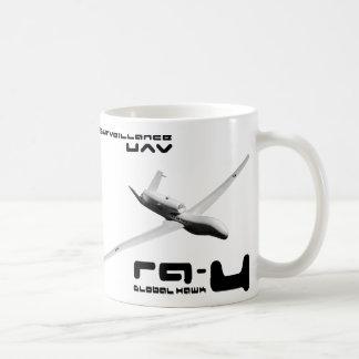 RQ-4 Global Hawk Classic White Coffee Mug