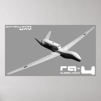 RQ-4 Global Hawk Poster