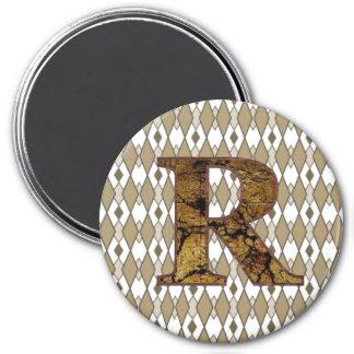 RR 3 INCH ROUND MAGNET