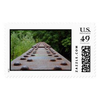 RR Bridge Abandon in Cuyahoga Falls, Ohio Postage Stamp