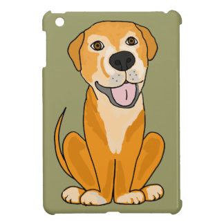 RR- Cute Funny Rescue Dog Puppy Cartoon Cover For The iPad Mini