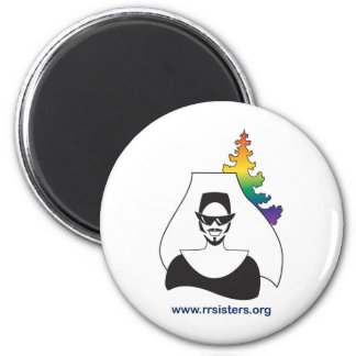 RR Sisters Logo Magnet
