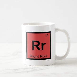 Rr - Tabla periódica de la roca de la química redo Tazas
