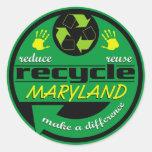 RRR Maryland Etiqueta Redonda