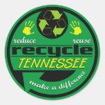 RRR Tennessee Round Stickers