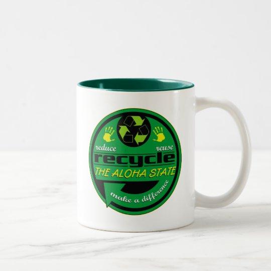 RRR The Aloha State Two-Tone Coffee Mug