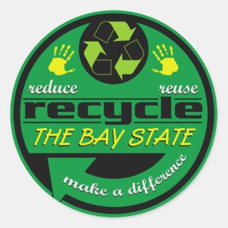 RRR The Bay State Classic Round Sticker