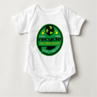 RRR The First State Baby Bodysuit