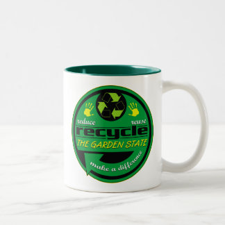 RRR The Garden State Two-Tone Coffee Mug