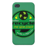 RRR The Gem State iPhone 4 Case