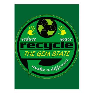 RRR The Gem State Postcard
