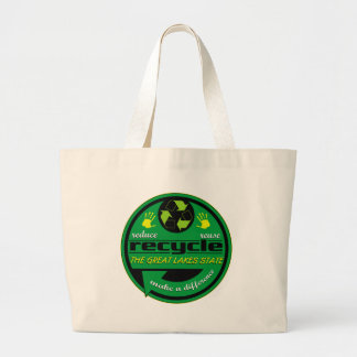 RRR The Great Lakes State Canvas Bags