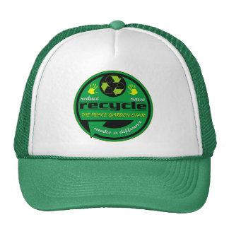 RRR The Peace Garden State Trucker Hat