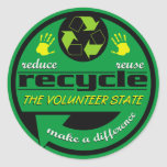 RRR The Volunteer State Stickers