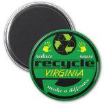 RRR Virginia 2 Inch Round Magnet