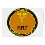 RRT Emblem Greeting Card