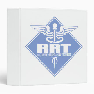 RRT Registered Respiratory Therapist 3 Ring Binder