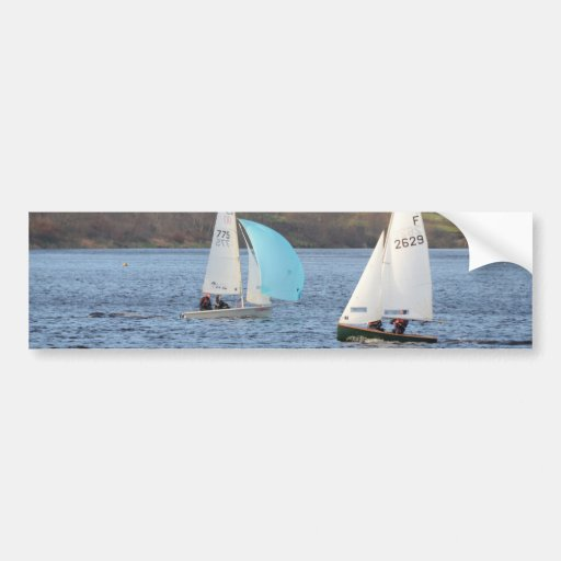 RS200 And Firefly Dinghies Bumper Sticker