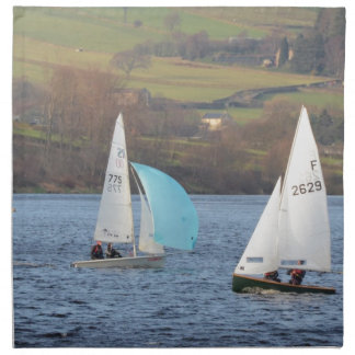 RS200 And Firefly Dinghies Napkin