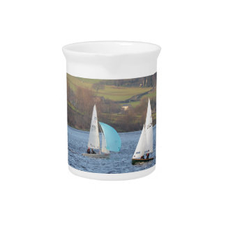 RS200 And Firefly Dinghies Pitcher
