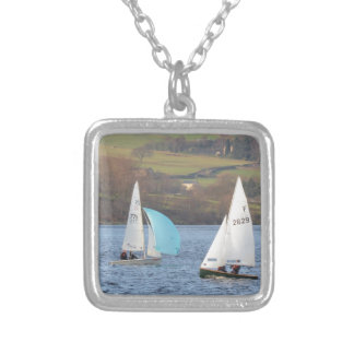 RS200 And Firefly Dinghies Silver Plated Necklace