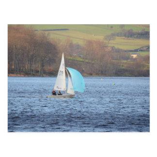 RS200 Sailing Dinghy Postcard