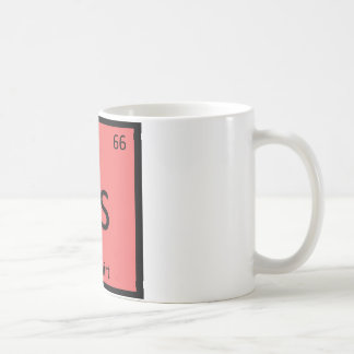 Rs - Redshirt Chemistry Periodic Table Symbol Classic White Coffee Mug
