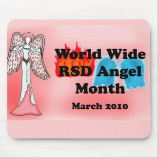 RSD Angel Month Mouse Pad