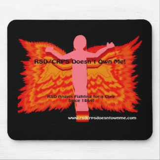 RSD Angel with Fire Wings Mousepad
