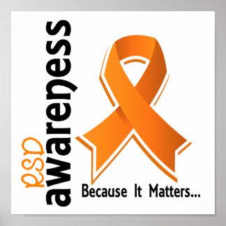 RSD Awareness 5 Reflex Sympathetic Dystrophy Poster