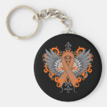 RSD Awareness Cool Wings Basic Round Button Keychain