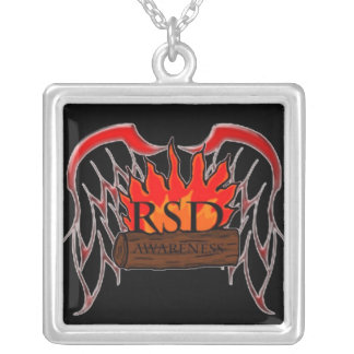 RSD Awareness Silver Plated Necklace