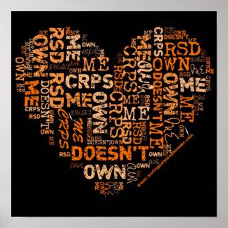 RSD/CRPS no me posee poster del corazón