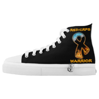 RSD/CRPS WARRIOR  fire & ice High-Top Sneakers