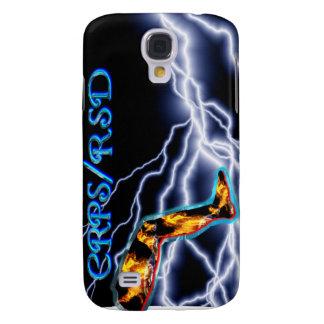 RSD/CRPS White Lightning I-Phone 3G Case Samsung Galaxy S4 Covers