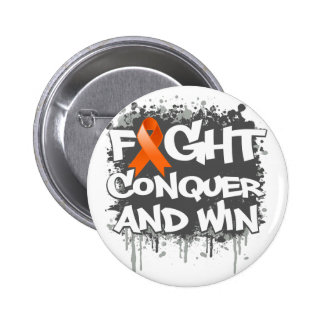 RSD Fight Conquer and Win 2 Inch Round Button