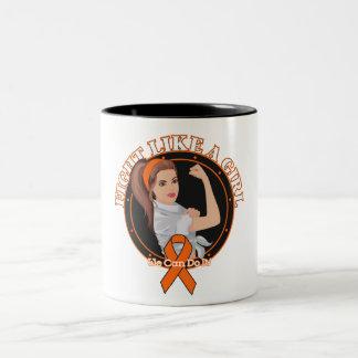 RSD Fight Like A Girl Modern Rosie Two-Tone Coffee Mug