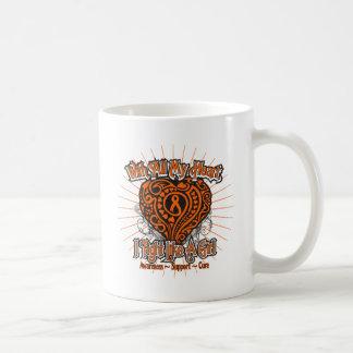 RSD Heart I Fight Like A Girl Coffee Mug