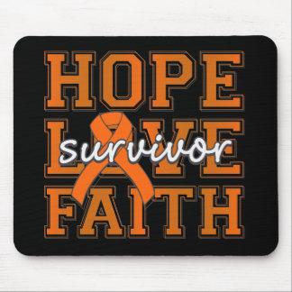 RSD Hope Love Faith Survivor Mouse Pad