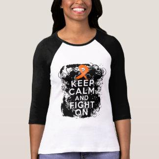 RSD mantienen tranquilo y la lucha On.png Camisetas